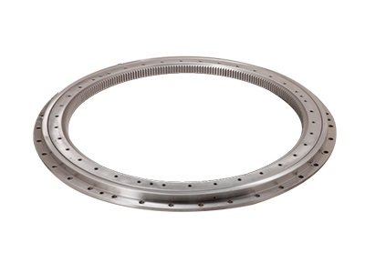 Light type slewing bearing with flange